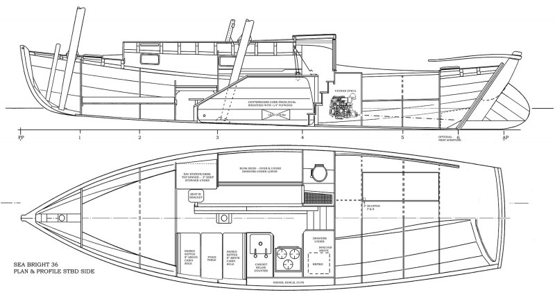 Reuel B Parker Marine Sea Bright 36 drawing plan starboard.jpg