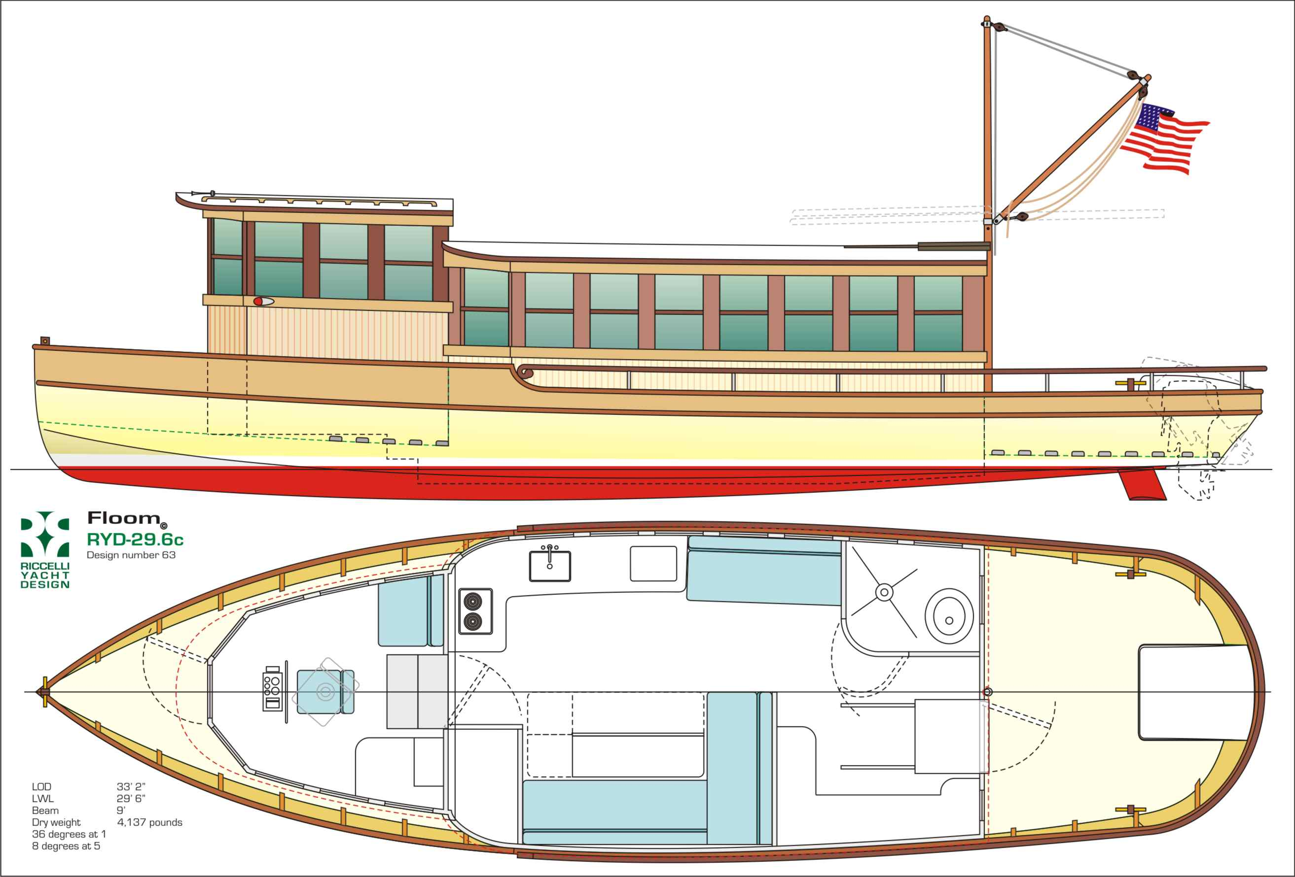 houseboat pontoon design | Boat Design Net