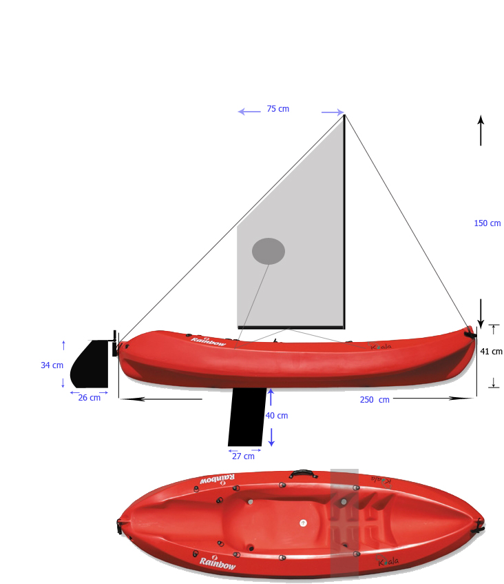 Sailing kayak diy project boat design net sailing kayakdesigng solutioingenieria Choice Image