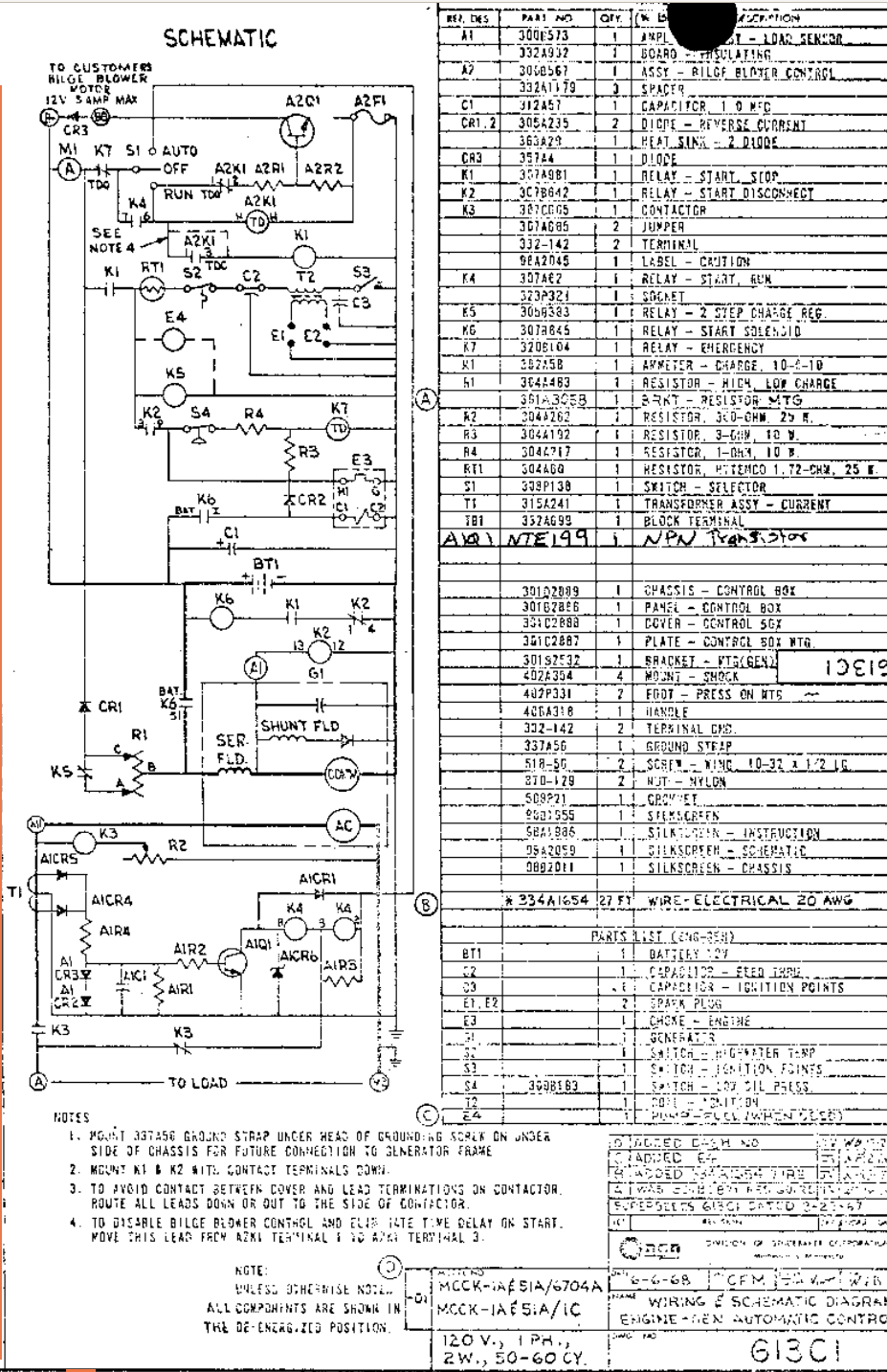 6500 MCCK generator loses fuel pump prime after sitting for ... Onan Mcck Generator Wiring Diagram on