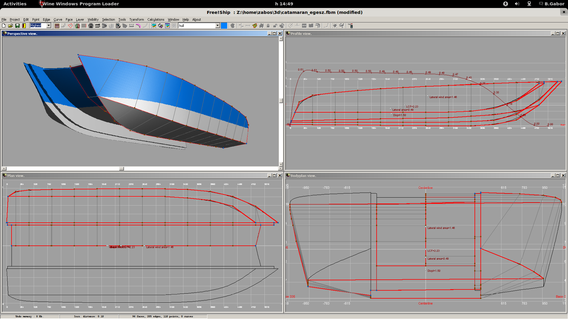 Designing a 20 ft power cat boat design net screenshot catg sciox Image collections