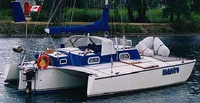 comparison of old trimarans? | Boat Design Net