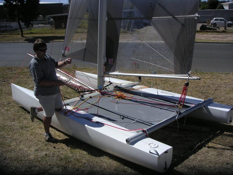 beach catamaran hull plans | Boat Design Net