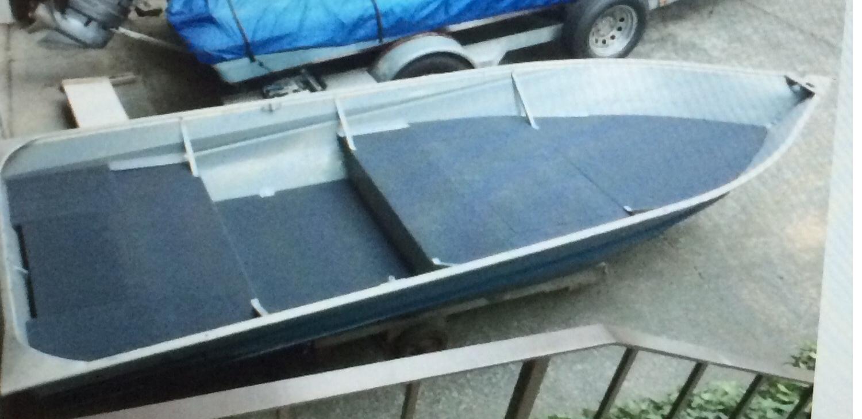 First Timer Decking For 14 Deep V Hull Boat Design Net