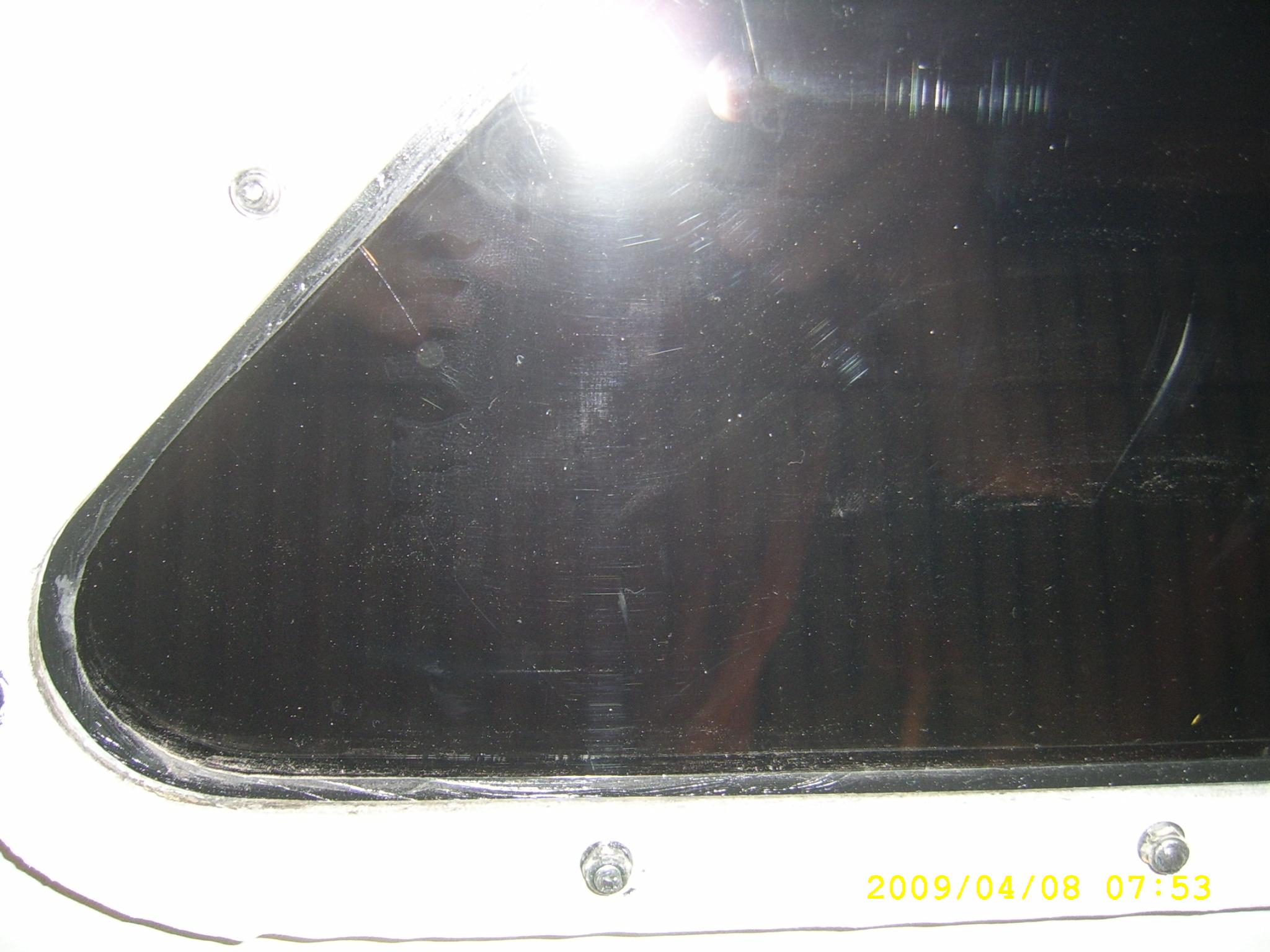 Lexan window cracks - help needed | Boat Design Net
