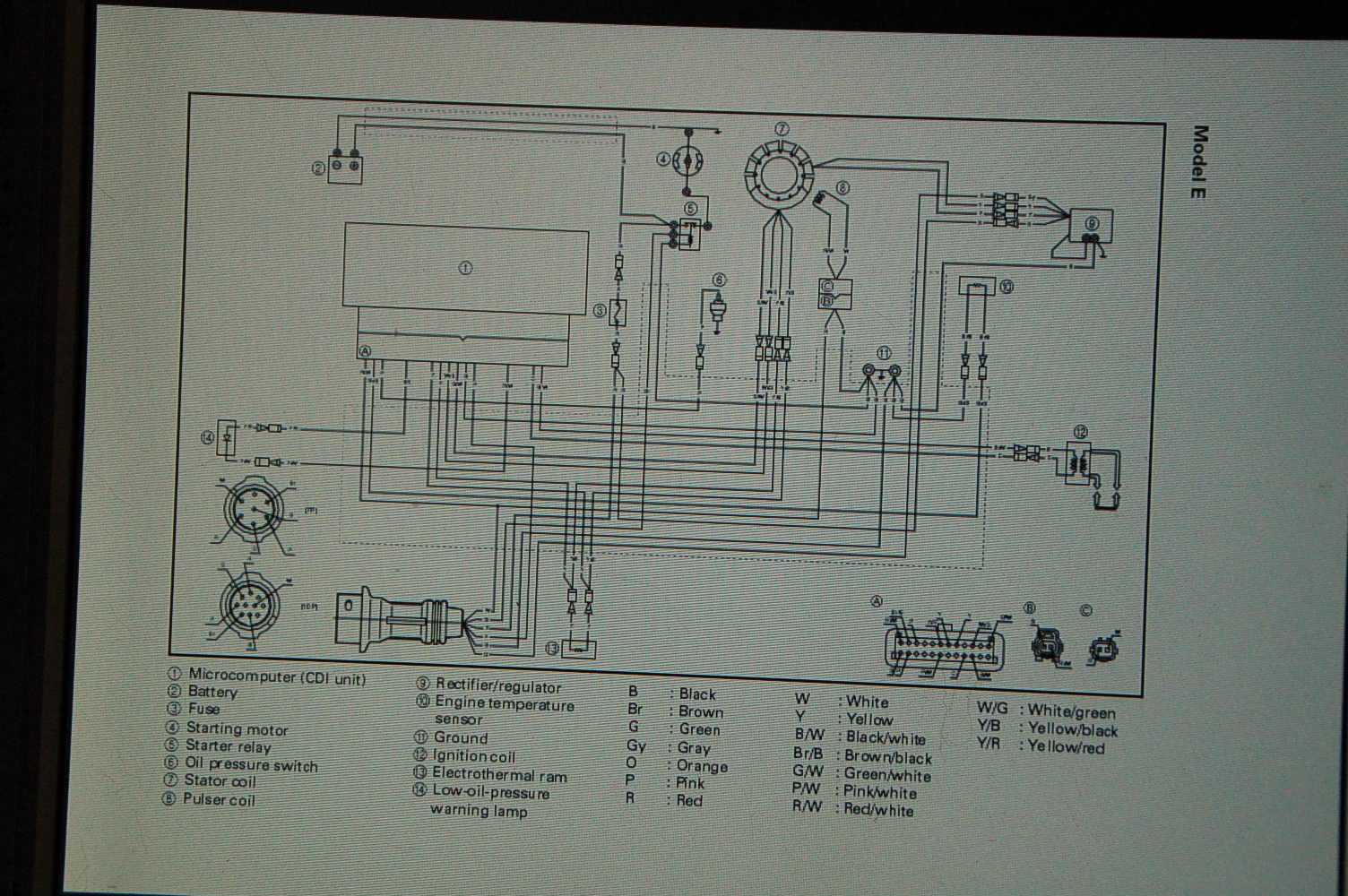 Yamaha It 465 Wiring Diagram Wiring Diagram