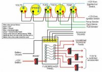 typical wiring schematic diagram boat design net rh boatdesign net