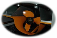 Surface Drive - propeller protection for beaching   Boat