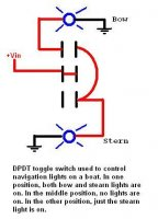 on 3 position toggle switch diagram wiring boat running lights