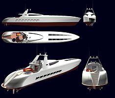 High speed yacht 50m
