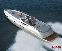 GLOSS design - 48' sport - open