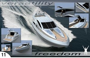 18mt concept Motor Yacht within reach of a disabled person - 3