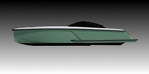New 54' boat built with advanced prepreg