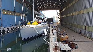 P40  Aluminium  Sail Yacht Design  Andrei Rochian  launching in South Korea