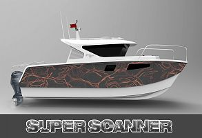 8m Catamaran Super Scanner