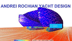 new  sport catamaran design   CFD  study  with new  Japanese  CFD softeare
