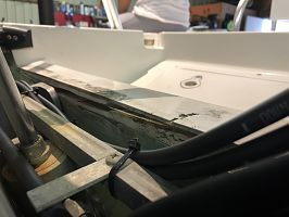 Transom damage 1