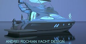 X 43 Motor Yacht Designed by Andrei Rochian success sea trials