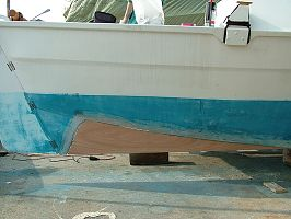 Tiki26 Hull Modification