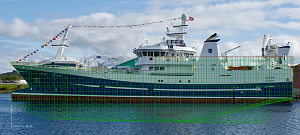 Cetus one of the latest fishing vessel fro Salt Ship Design.