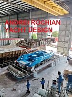 A39  Sport Motor  yacht  set of    moulds  in production nearby Hong Kong