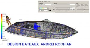 X 30S runabout Structural Framing FiniteElements Analysis simulation