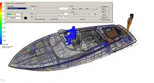 X 30S runabout Structural Framing FiniteElements Analysis