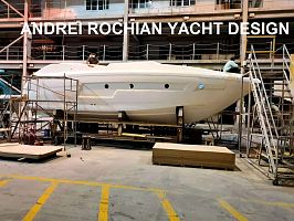 Sport Motor Yacht Design Andrei Rochian advances nearby Hong Kong