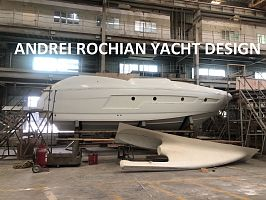 40 ft Sport Motor Yacht Design Andrei Rochian advances nearby Hong Kong
