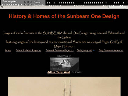 Cached version of History & Homes of the Sunbeam One Design