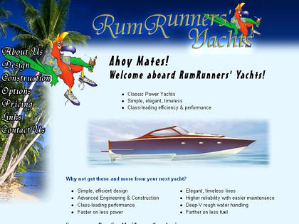 Cached version of RumRunners Yachts