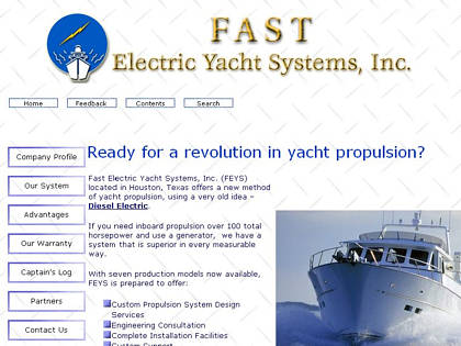 Cached version of Fast Electric Yacht Systems