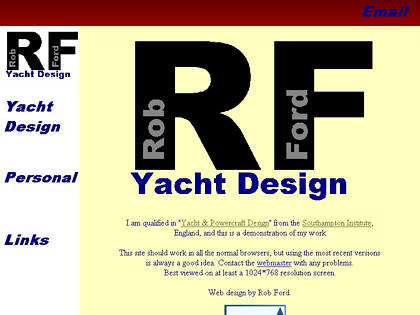 Cached version of Rob Ford Yacht Design