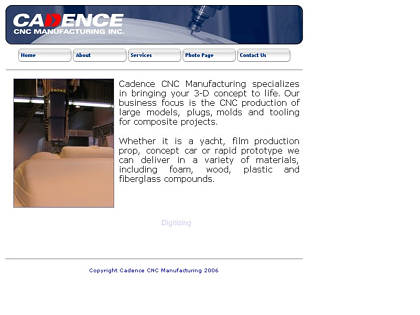 Cached version of Cadence CNC Manufacturing