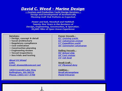 Cached version of DC Weed - Marine Design