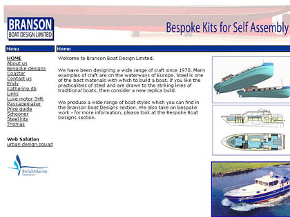 Cached version of Branson Boat Design Ltd