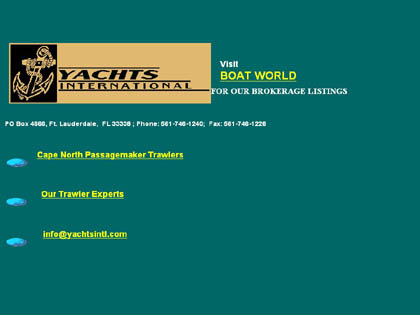 Cached version of Yachts International
