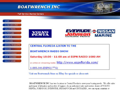 Cached version of BOATWRENCH Marine Centers