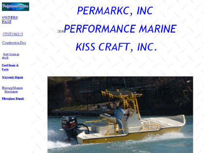 Cached version of Performance Marine