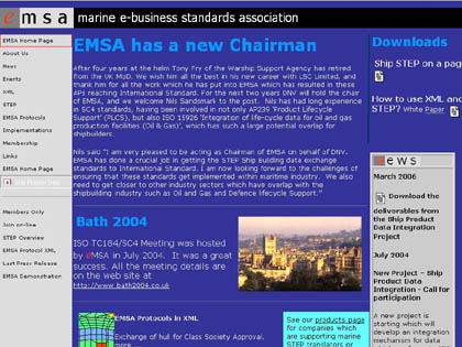 Cached version of Marine e-Business Standards Association