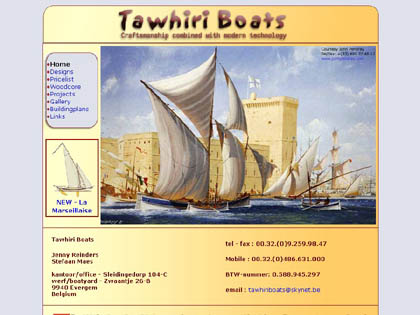 Cached version of Tawhiri Boats