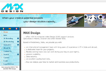 Cached version of MAX Design (INDIA) Pvt. Ltd.