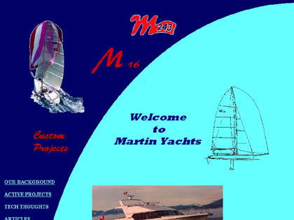 Cached version of Martin Yachts Ltd.