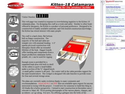 Cached version of Kitten-18 Catamaran