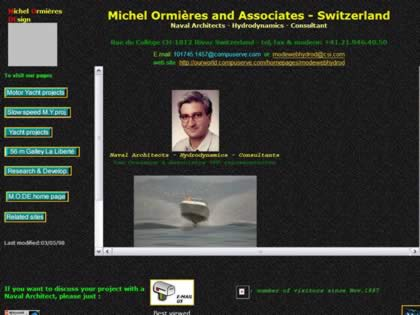 Cached version of Michel Ormi�res and Associates