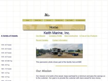 Cached version of Keith Marine Inc.