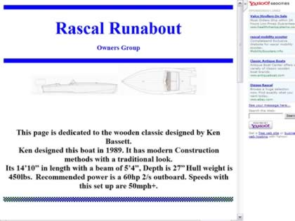 Cached version of Rascal Runabout