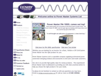 Cached version of Power Master Systems Ltd