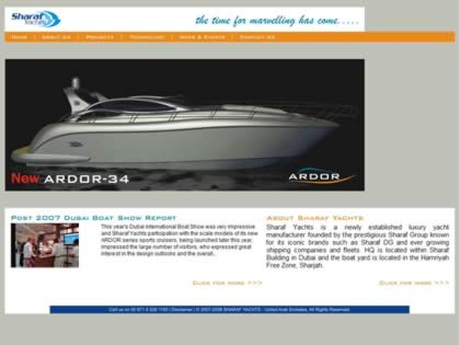 Cached version of Sharaf Yachts FZC