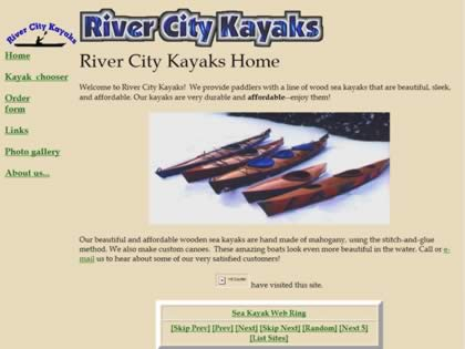 Cached version of River City Kayaks
